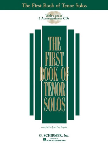 The First Book of Tenor Solos: Book/CD package (2 CDs)...
