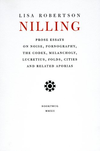 Nilling: Prose (Department of Critical Thought)