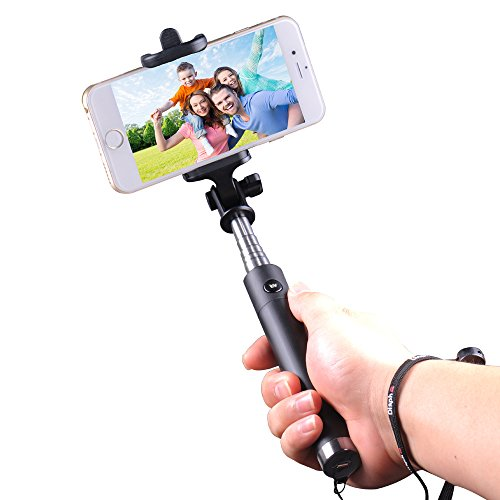 Why Choose Extendable Selfie Stick / Self Shooting Monopod with Bluetooth Remote Shutter Built-in fo...