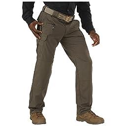 5.11 Men\'s Stryke Pants with Flex-Tac, Tundra, 30-Waist/32-Length