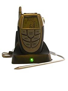 BAFX Products (TM) - Wireless Grilling Barbeque Meat Thermometer - Grill with ease!... by BAFX Products