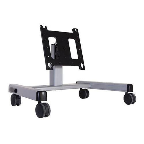 Chief Pfq2000S 2' Large Flat Panel Display Mobile Cart Silver
