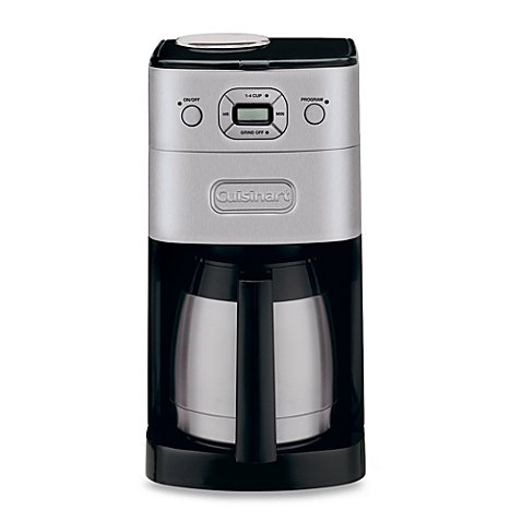 Cuisinart Grind & Brew Thermal 10-Cup Automatic Coffee Maker Model#DGB-650BC