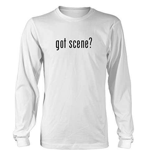 Got Scene? Funny Adult Men'S Long Sleeve T-Shirt, White, Small