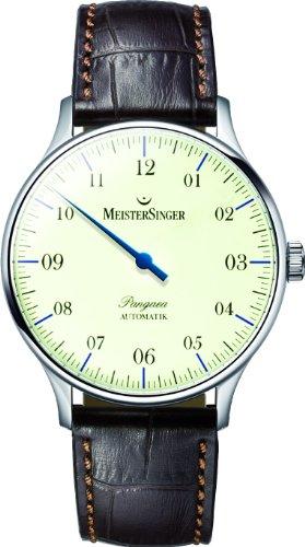MeisterSinger Pangea Reloj automático con sólo una aguja Diseño Clásico