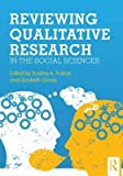 img - for [(Reviewing Qualitative Research in the Social Sciences)] [Author: Audrey A. Trainor] published on (February, 2013) book / textbook / text book