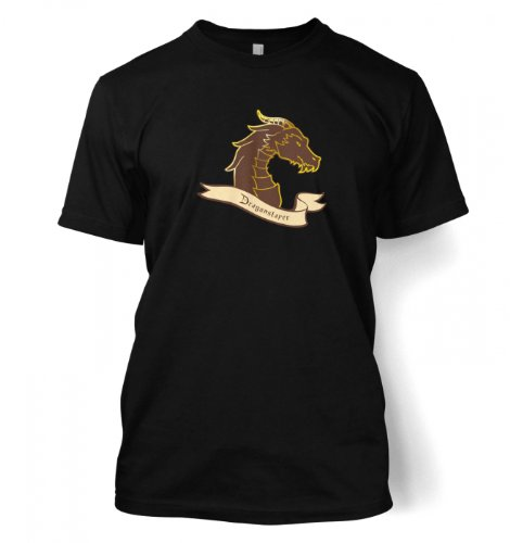 Something Geeky PP – Dragonslayer T-shirt  Black