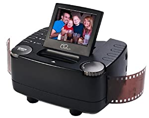 DB-Tech 35mm Film Slide and Negative Scanner - 10 Mega Pixel Film to Digital Image Converter - with 2.4-Inch LCD and TV-Out