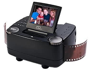 DBTech 35mm Film Slide and Negative Scanner - 10 Mega Pixel Film to Digital Image Converter - with 2.4-Inch LCD and TV-Out