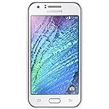 "Samsung Galaxy J1 - Smartphone de 4.3"" (WiFi, Spreadtrum Dual-core 1.2 GHz, 512 MB de RAM, cámara de 5 MP, micro SD, Android) color blanco [modelo español]"