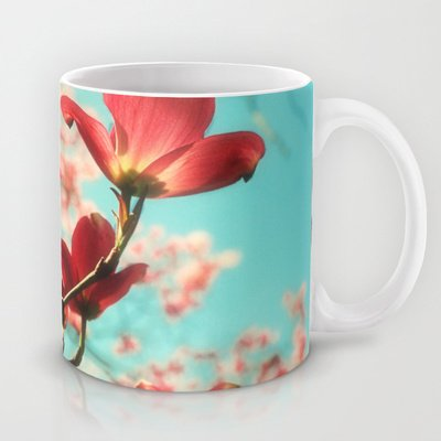 Society6 - Spring Dogwood Blossoms Coffee Mug By Wood-N-Images