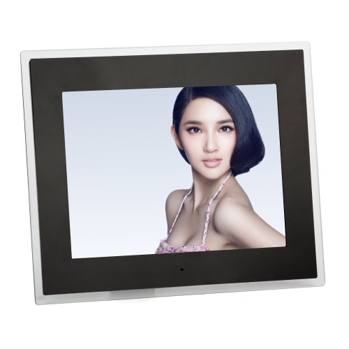 Koolertron 4:3 Widescreen 10 /7/8/12.1/14 Inch Lcd Digital Photo Frame Video Player Music Player Hd 1024*768 High Resolution Sd/Mmc/Ms - Usb Slots As Christmas Gifts (Black, 14 Inch)