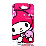 Bright Color Cartoon Hard Shell Cover for Samsung Galaxy Note II N7100 - My Melody
