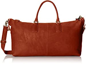 JD Fisk Men's Classic Leather Weekender Bag by JD Fisk Men's Accessories