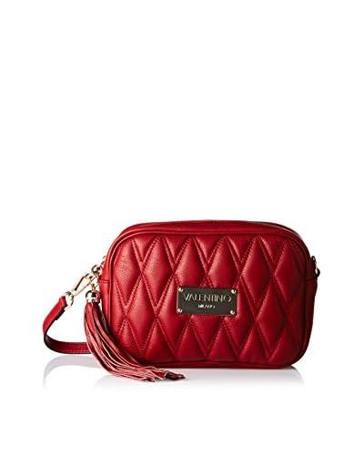 Valentino Bags by Mario Valentino Women's Mia D Quilted Cross-Body, Rubino