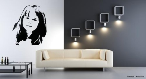 individuelles wandtattoo wandaufkleber wand sticker. Black Bedroom Furniture Sets. Home Design Ideas