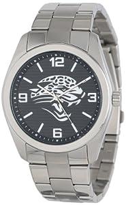 Game Time Unisex NFL-ELI-JAC Elite Jacksonville Jaguars 3-Hand Analog Watch by Game Time
