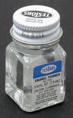 TES1148PT Thinner .25oz Bottle by Testors Paints