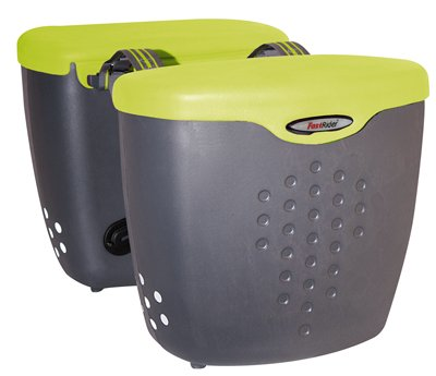 ... Bag / Bike Cooler - Basil Pannier (Lime Green) - laravali's diary