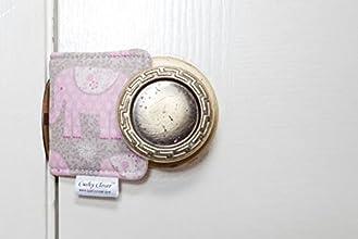 The Original Cushy Closer Door Cushion Lily-Pink Elephant