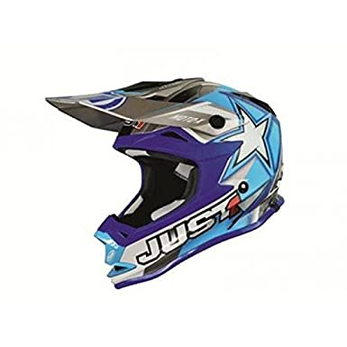 Casque just1 j32 motox bleu taille xl - Just1 433525XL
