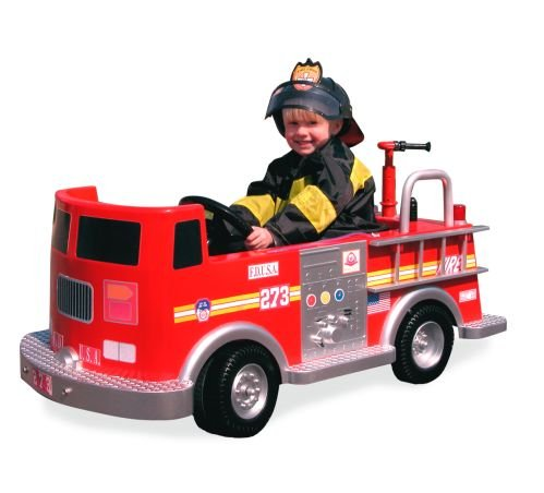 Buy Authentic Pedal Fire Truck