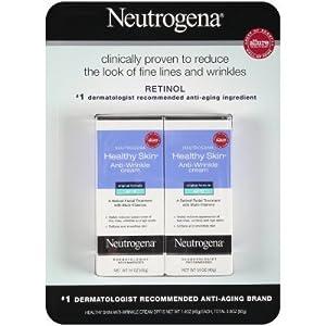 Neutrogena Healthy Skin Anti Wrinkle Cream 2 count 1.4 oz each - Total 2.8 oz by Neutrogena