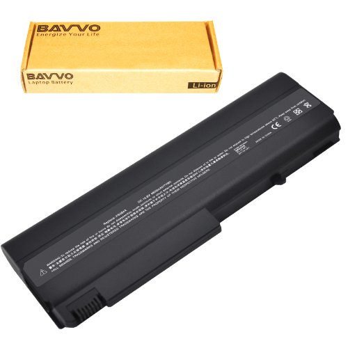 Bavvo 9-apartment Laptop Battery for HP COMPAQ 6510b 6515b 6710b 6710s 6715b 6715s 6910p; HP COMPAQ 6510 b