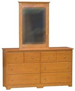 Windsor 6 Drawer Dresser with Mirror JKA300