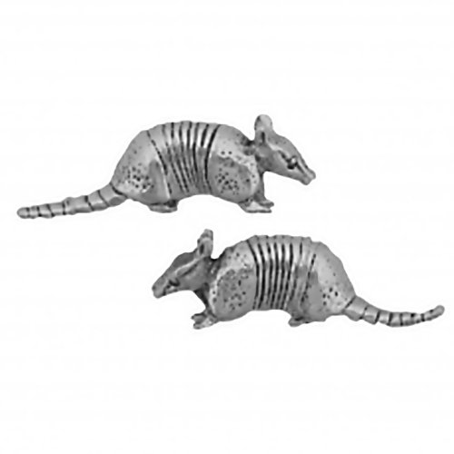 Sterling Silver Armadillo Earrings