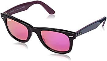 Ray-Ban Black Plastic Square Women's Sunglasses