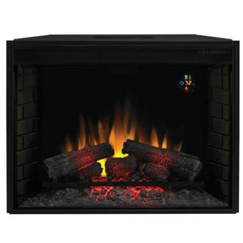 Classic Flame 23 Insert Electric Fireplace In Black Lowes Electric Fireplace