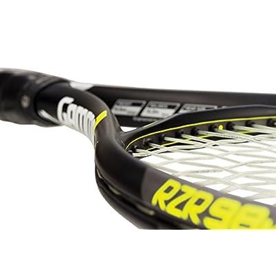 Gamma Sports RZR 98M Tennis Racquet - Grip Size 5/8, 39572/White