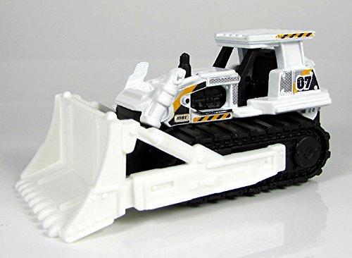 Matchbox Planierraupe MBX D.I.G. Ground Breaker weiß – MBX Construction – Bulldozer Kettenfahrzeug günstig kaufen