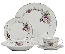 We Are actually Energized To Be Able To Launch The Excellent Lynns Lydia 20-Piece Dinnerware Set Service for 4 to You  sc 1 st  Fine Dinner Sets - Blogger & Best Cheap Lynns Lydia 20-Piece Dinnerware Set Service For 4 | Fine ...