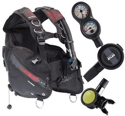 Genesis Scuba Gear Package #62 obtained from Genesis by Sherwood