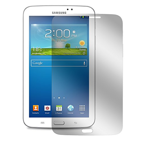 3x Alaskaprint Displayschutzfolie Clear für SAMSUNG Galaxy Tab 3 7.0 SM-T210, Schutzfolie Klar Inkl. Microfaser-Putztuch