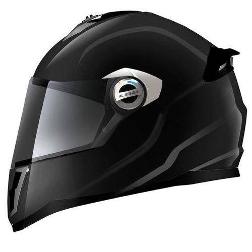 LS2 FF392 Single Mono Junior Motorcycle Helmet S Black