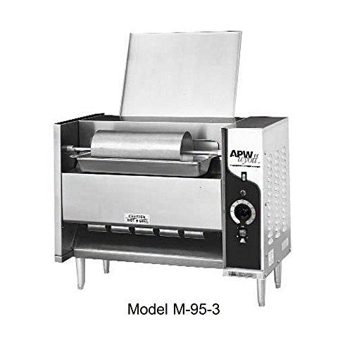 APW Wyott M-95-3 Bun Grill Toaster