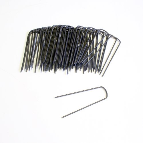 High Tech Pet Set Of 12 Yard Staples Ys-50 For Electronic Dog Fence Systems
