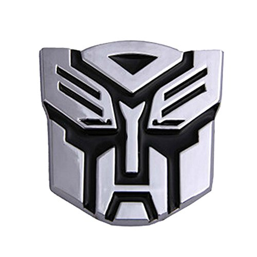 BestAuto® Car Decoration Transformers Sticker Logo Metal 3D Autobot Emblem Badge Decal Truck Auto styling Car Styling Covers (Car 3d Emblem compare prices)
