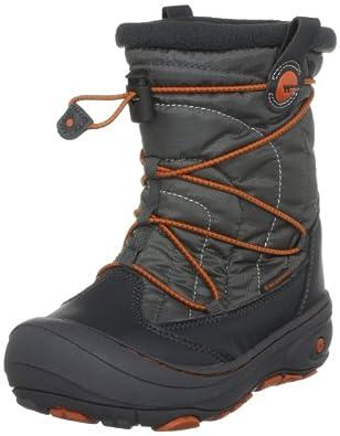 Hi-Tec Equinox, Unisex-Child Snow Boots, Dark Grey/Burnt Orange, 6 UK