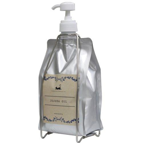 高精製ホホバオイル1000ml オールインワンセット 天然100% マッサージオイル 、ベビーオイル、クレンジング、スキンケア