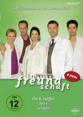 In aller Freundschaft - Die 06. Staffel, Teil 1, 24 Folgen [6 DVDs]