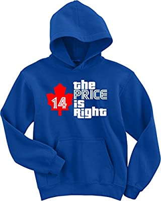 "David Price Toronto Blue Jays ""Right Price"" Hooded Sweatshirt"