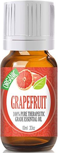 Grapefruit (Organic) 100% Pure, Best Therapeutic Grade Essential Oil - 10Ml