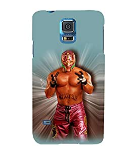 printtech WWE Ray Mysterio Back Case Cover for Samsung Galaxy S5 G900i::Samsung Galaxy S5 i9600::Samsung Galaxy S5 G900F