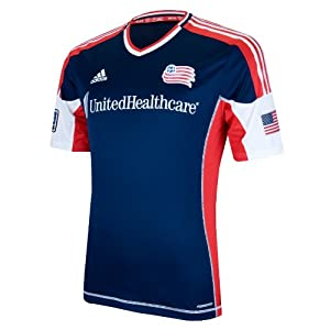 MLS New England Revolution Short Sleeve Authentic Jersey by adidas