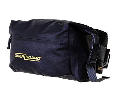 Overboard Pro-Luce impermeabile Marsupio, colore: nero, 6 litri