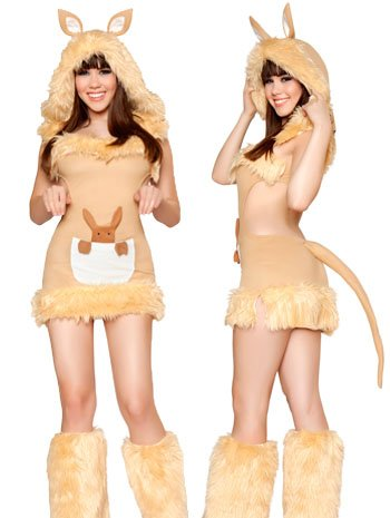 Kangaroo Cutie Costume - Medium back-975227